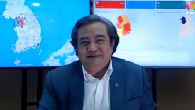 """Duta Besar RI untuk Korea Selatan Umar Hadi dalam VIVATalk bertema """"Hidup di Tengah Pandemi COVID-19: Belajar dari Pengalaman Korsel"""" Selasa 7 Juli 2020"""