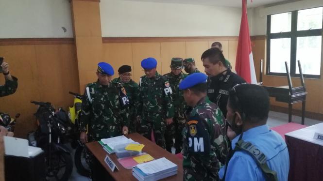 Komandan Pusat Polisi Militer (Danpuspom) TNI, Mayjen Eddy Rate Muis