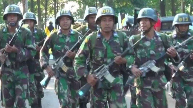 VIVA Militer : Latihan personel TNI AD
