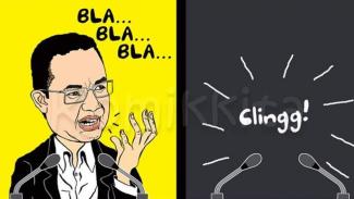 Komik Ngakak: Anies soal Corona Konpers TV, Kisruh PPDB Ngilang!