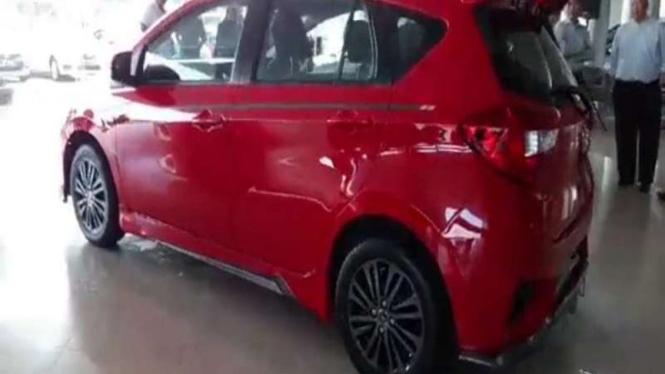 Tampilan Daihatsu Sirion yang dijual di Brunei Darussalam