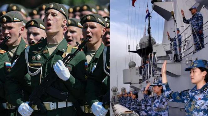VIVA Militer: Tentara Rusia dan China.