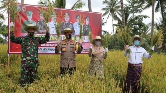 Desa di NTB yang memperkuat ketahanan pangan