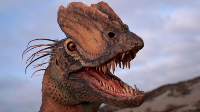 Dinosaurus jenis Dilophosaurus