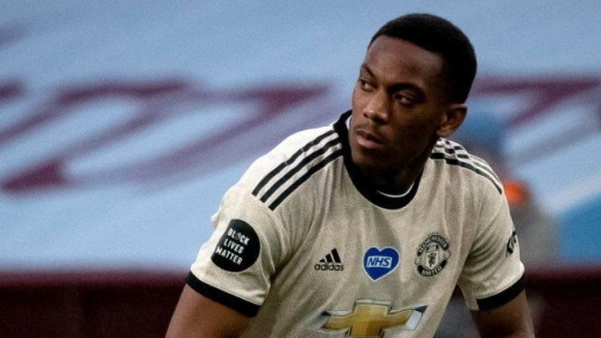 Striker MU, Anthony Martial