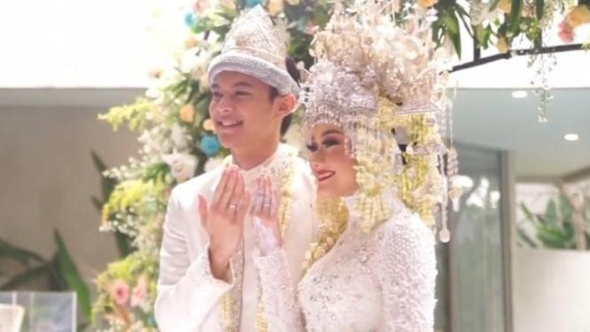 Selamat! Dinda Hauw Resmi Menikah dengan Rey Mbayang