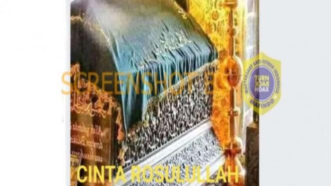 Hoax makam Nabi Muhammad SAW di Masjid Nabawi