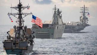 VIVA Militer: Pasukan Kapal Perang Amerika di Pasifik.