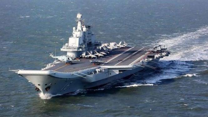 VIVA Militer: Kapal induk China, Shandong