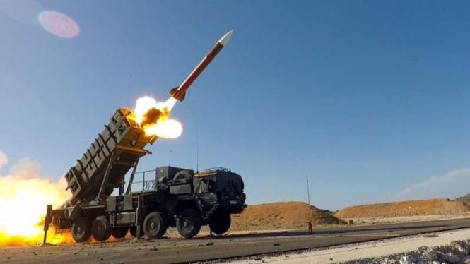 VIVA Militer: Rudal sistem pertahanan udara Patriot Amerika Serikat (AS)