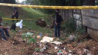 Jasad wartawan Metro TV Yodi Prabowo ditemukan di pinggir jalan tol