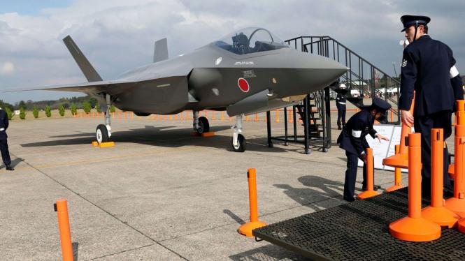VIVA Militer: Pesawat Tempur F-35 Milik Jepang