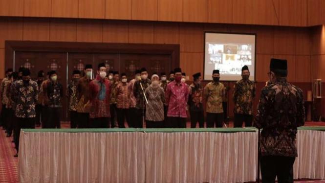 Menag lantik Rektor UIN Sunan Kalijaga Yogyakarta dan 19 pejabat di Kemenag
