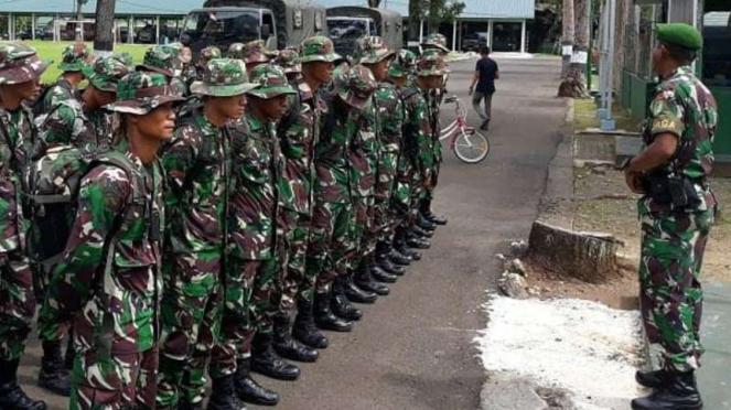 Prajurit TNI AD. Foto ilustrasi.