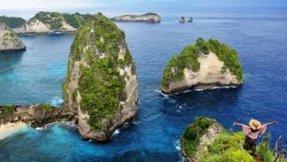 Wisata di Pulau Nusa Penida, Bali.