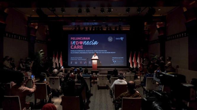 Peluncuran Indonesia Care