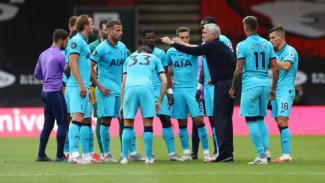 Jose Mourinho saat Tottenham Hotspur melawan Bournemouth