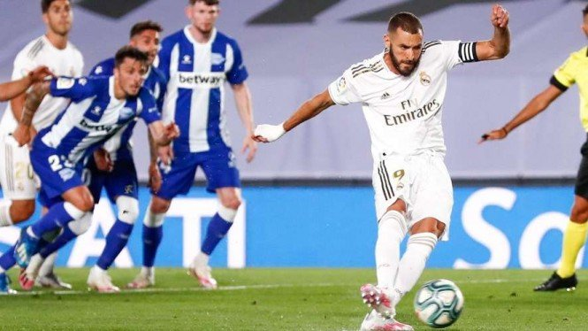 Penyerang Real Madrid, Karim Benzema
