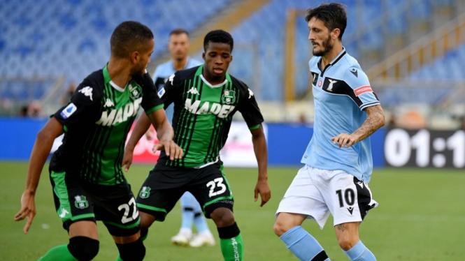 Pertandingan Lazio vs Sassuolo