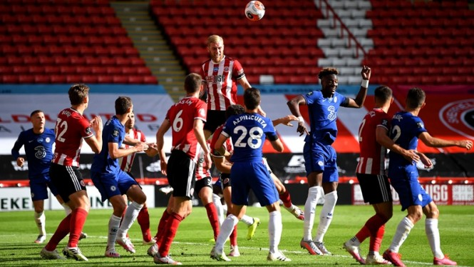 Pertandingan Sheffield United vs Chelsea