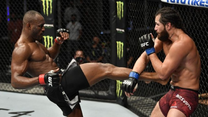 Duel Kamaru Usman versus Jorge Masvidal di UFC 251