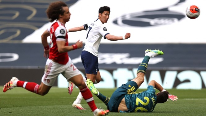 Pertandingan Tottenham Hotspur vs Arsenal
