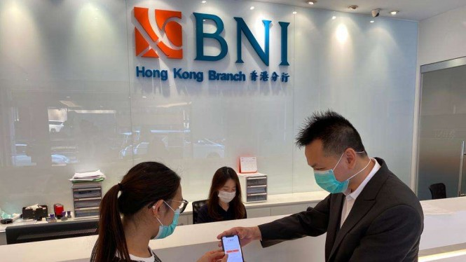 BNI Cabang Hong Kong.