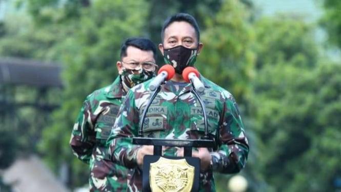 Kepala Staf TNI Angkatan Darat, Jenderal Andika Perkasa.