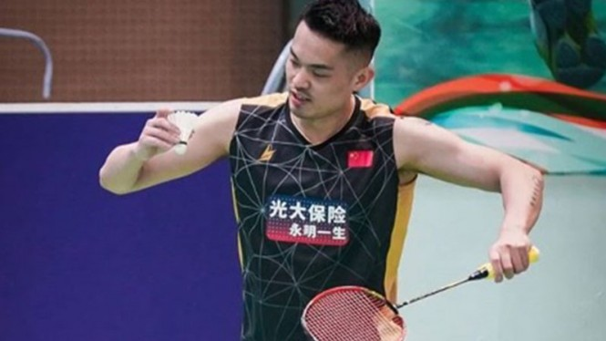 Legenda bulutangkis China, Lin Dan.
