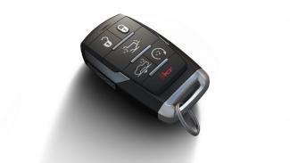 Ilustrasi kunci mobil keyless