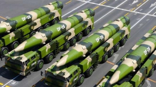 VIVA Militer: Rudal balistik nuklir China, Dongfeng DF-26