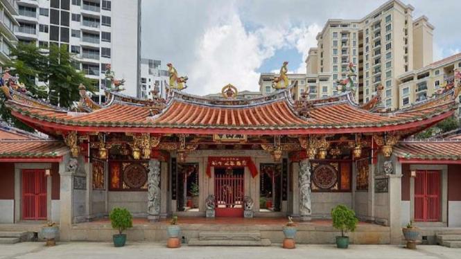 Pelestarian arsitektur leluhur oleh komunitas Hokkian di Singapura
