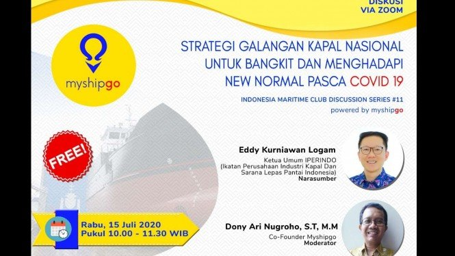 INDONESIA MARITIME CLUB DISCUSSION SERIES.