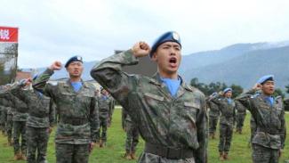 VIVA Militer: Pasukan Perdamaian Persatuan Bangsa-Bangsa (PBB) dari China