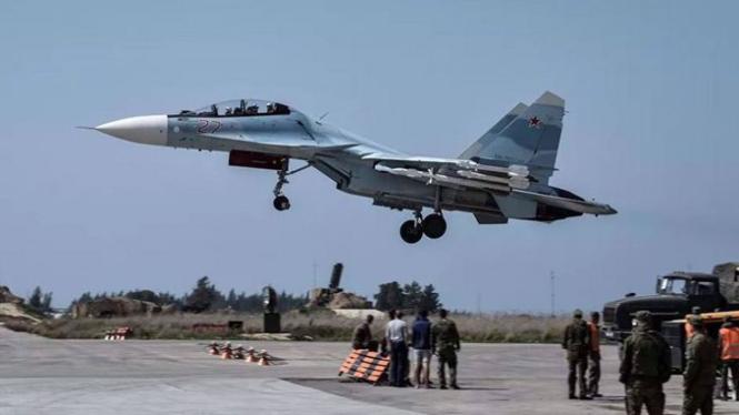 VIVA Militer: Pesawat tempur Rusia di Suriah.