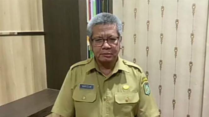 Kepala Dinas Kesehatan Provinsi Kalimantan Barat, Harisson.
