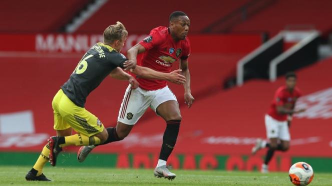 Pertandingan Manchester United vs Southampton