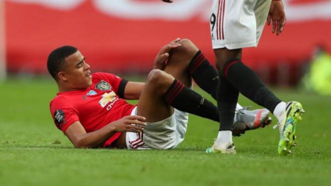 Striker muda Manchester United, Mason Greenwood, alami cedera