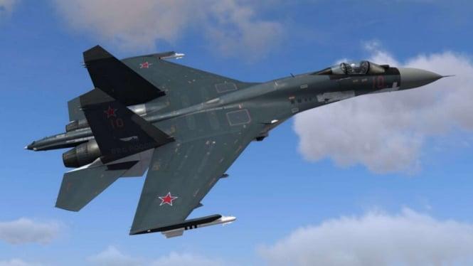 VIVA Militer: Pesawat Jet Tempur Sukhoi SU-35