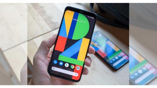 Google Pixel 4A.