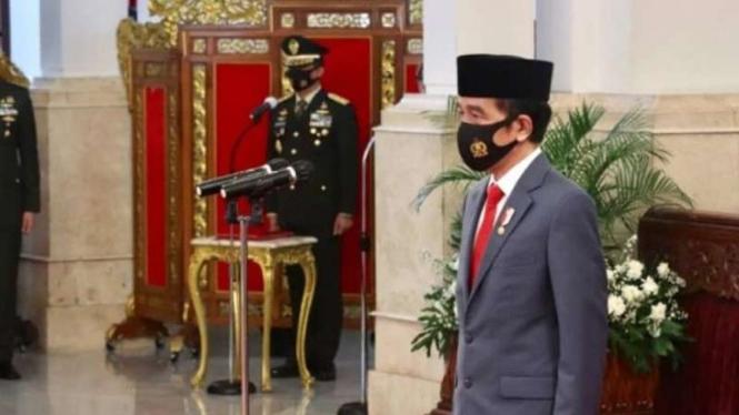 VIVA Militer : Presiden Joko Widodo melantik 750 Perwira TNI-Polri 2020