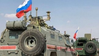 VIVA Militer: Konvoi patroli militer Rusia di Suriah.