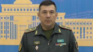 VIVA Militer: Wakil Menteri Pertahanan Kazakhstan, Brigjen Bakyt Kurmanbaev.