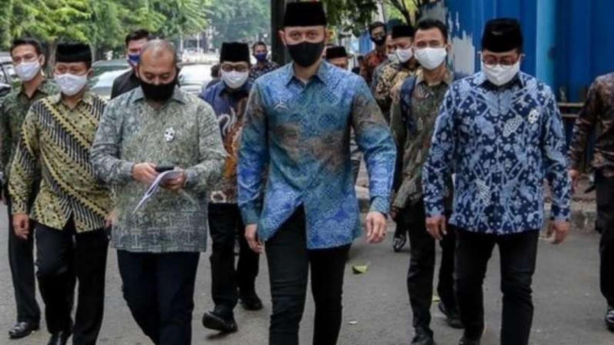 Agus Harimurti Yudhoyono alias AHY mendatangi kantor MUI, Selas, 14 Juli 2020.