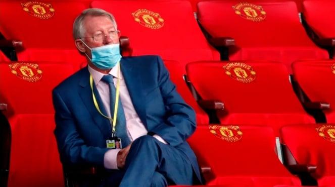 Mantan manajer MU, Sir Alex Ferguson.