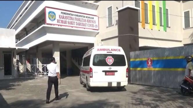 Rumah Sakit Rujukan COVID-19 di Nganjuk, Jawa Timur