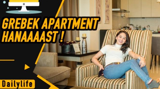 Gerebek apartemen Hana Hanifah