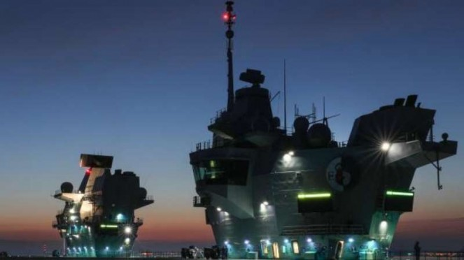VIVA Militer: HMS Queen Elizabeth
