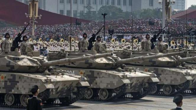 VIVA Militer: Tank tipe 99A2 Tentara Pembebasan Rakyat China (PLA)