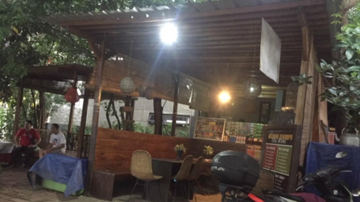 Warung di dekat TKP kematian Editor Metro Tv